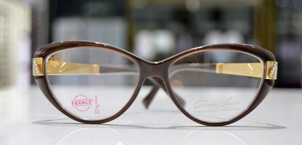 Vista frontal gafa graduada de Gerard Vuillet modelo Osiris AC 54-15