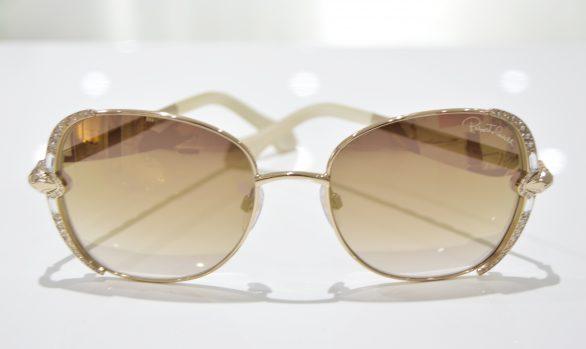 Solbriller af Roberto Cavalli model Subra 974S 28G 56-19